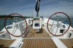 Yacht parts and accessories made of fibrglass