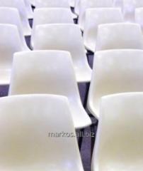 Krzesełka stadionowe plastikowe.