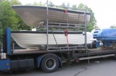 Wielofunkcyjna łódź z włókna szklanego