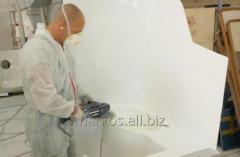 Segmenty sanitarne plastikowe dla statków i jachtów.