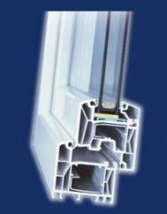 Okna PCV system Trocal