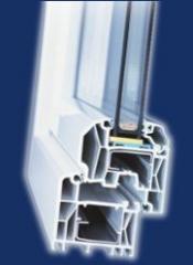 Okna Pcv system Trocal elegance