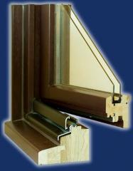 Okna drewniane system 3