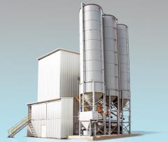 Units concrete mixing stationary