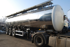 Semitrailers, tanks for transportation of food