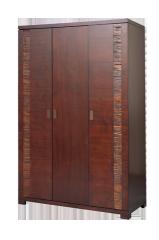 Szafa 3-drzwiowa Malaga z litego drewna  egzotycznego