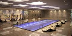 Magic Wave leżanka z masażerem do SPA i Wellness
