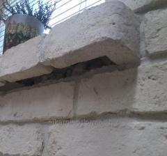 Old brick parapet Extreme complète