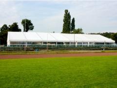 Hale namiotowe wykorzystywane podczas imprez