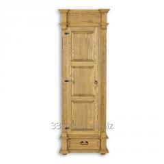 Szafa drewniana sosnowa rustykalna  jedno drzwiowa
