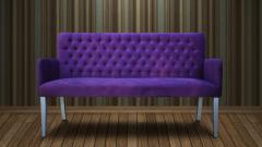 Pikowana ławeczka z oparciem PRESTON 125
