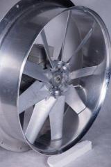 Ventilador 600 mm, 1.1kW - para secadero de tablas