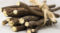 Roots of licorice (Glycyrrhiza)