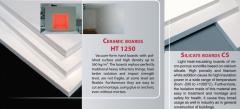 Ceramic boards HT 1200 for insulation