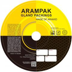 Aramid gland packing Arampak XG/ZG