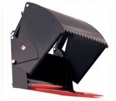 Silage cutter, silage cutter for removing silage