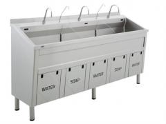 Stainless steel sink Üzümcü 80800 Triple