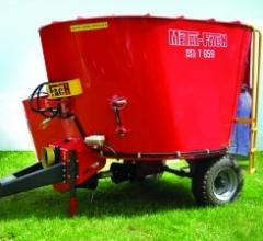 Mixer wagons by Metal Fach, model BEL-MIX T659