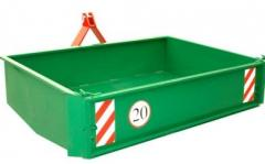Hydraulic boxes for cargo transportation by Metal