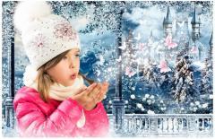 Czapki zimowe dla dzieci z dzianiny