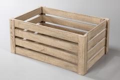 Skrzynki drewniane do transportu i przechowywania owoców i warzyw