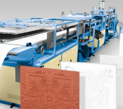 Complete lines for thermoforming packaging and
