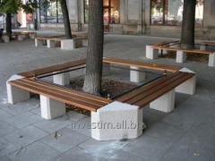 Пейки бетонни