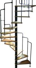 Prefabrykowane (modułowe) schody spiralne