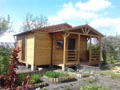 Domek drewniany 5,5x5,5m