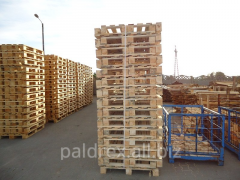 Unbranded euro pallets