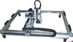 CNC engraver for granite and other polished