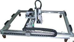 Engraving plotter for granite, glass or other