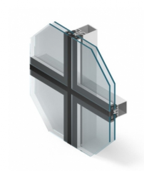 Extensible glass partitions