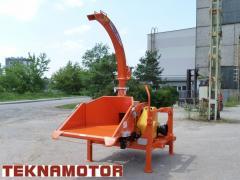 Новая дробилка древесины Skorpion 280RB