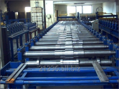 The lines for the forming of tin