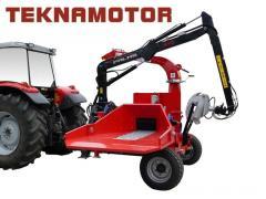 Новая дробилка древесины Skorpion 250 RG/90