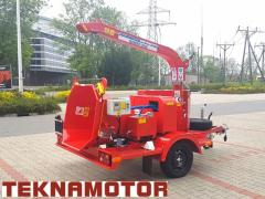 New Skorpion 120 SD wood chipper