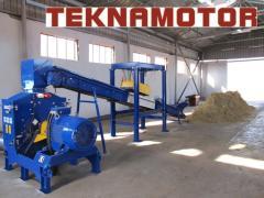 Новий лісопильний завод TEKNAMOTOR Skorpion 800