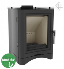 Cast iron stove K5 with accumote warm acumulator