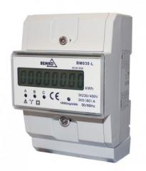 Heat-counter with electromagnetic flowmeter