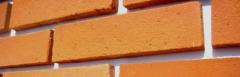 Brick type facade tiles