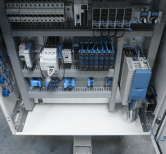 Control system for automatic thermoplastic