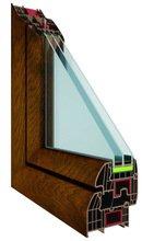 Okna PCV MAXTHERM 94 mm szerokości o wysokiej izolacyjności