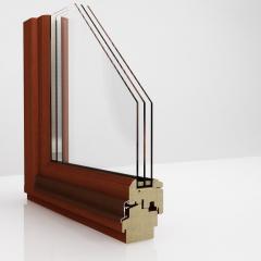 Okna DDR 92  z drewna najwyższa jakość szerokość ramy 92 mm