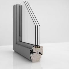 Okna  Alu-drewniane okna o najwyższej jakości wykończenia