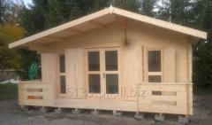 Domek drewniany WEEKEND 25 m2 + taras