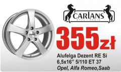 Alufelga alufelgi felga felgi Dezent RE Opel Astra