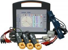 TE30 Trójfazowy analizator sieci  i tester