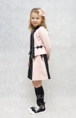 Granatowa spódnica dla dziecka z tiulu