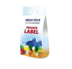 Proszek do prania detergent, Private label, białe, 5kg
